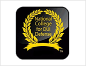 National College For DUI Defense Award